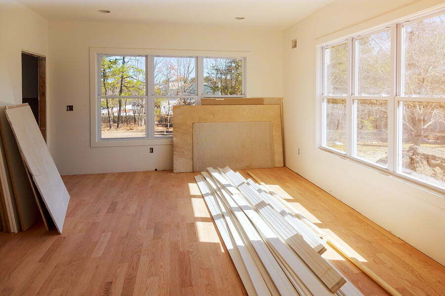 construction building industry new home construction interior drywall tape and finish details new home before installing